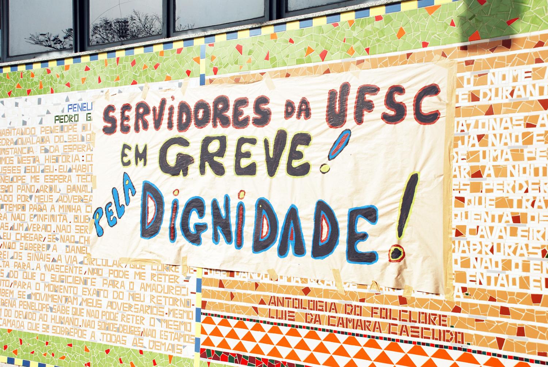 Greve na UFSC