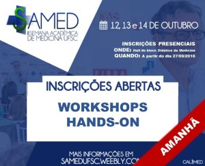 Incricoes workshop AMANHA 2